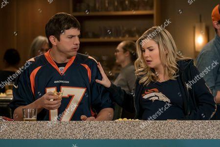 Ashton Kutcher as Colt Bennett and Elisha Cuthbert as Abby
