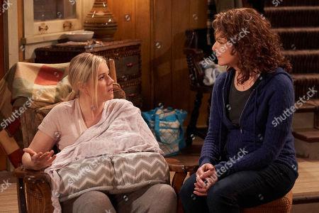Elisha Cuthbert as Abby and Debra Winger as Maggie Bennett