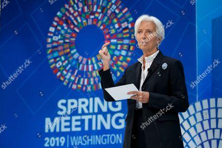 IMF World Bank Group Spring meetings Washington Stock Photos