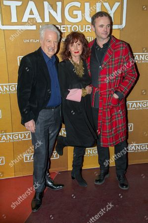 French actors, Andre Dussolier, Eric Berger, Sabine Azema