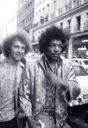 Editorial picture of Jimi Hendrix Experience, Paris, France - January 1968