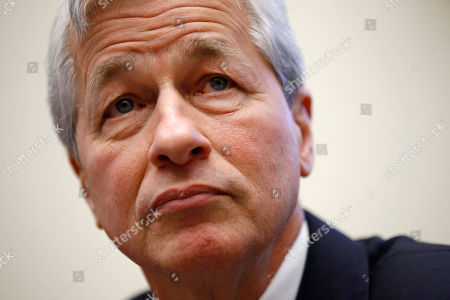 JPMorgan Chase chairman and CEO Jamie Dimon testifies before the House Financial Services Committee during a hearing, on Capitol Hill in Washington