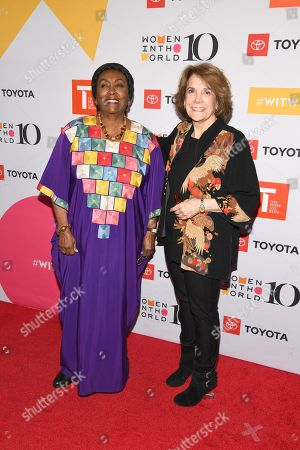 Stock Picture of Edna Adan Ismail and Marjorie Margolies