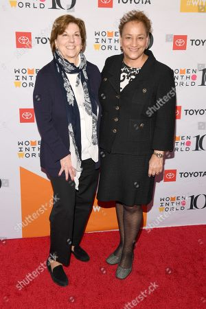 Stock Picture of Joan Ruff and Jo Ann Jenkins