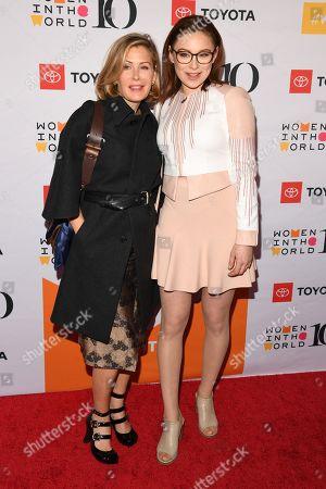 Tara Subkoff and Mina Sundwall