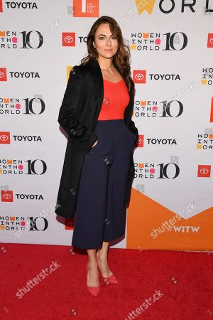 Editorial picture of 10th Annual Women in the World Summit, Arrivals, New York, USA - 10 Apr 2019