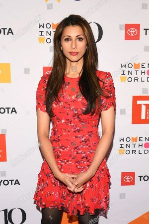 Editorial image of 10th Annual Women in the World Summit, Arrivals, New York, USA - 10 Apr 2019