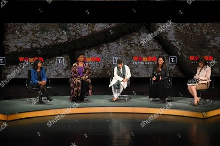Editorial image of 10th Annual Women in the World Summit, Inside, New York, USA - 10 Apr 2019