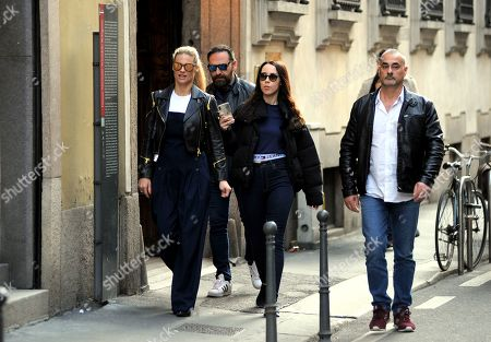 Editorial picture of Michelle Hunziker out and about, Milan, Italy - 10 Apr 2019