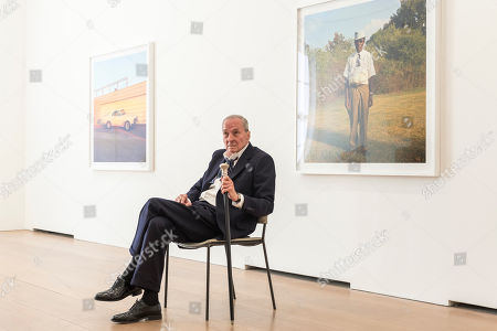 Editorial photo of 'Two and One Quarter' art exhibition, David Zwirner gallery, London, UK - 10 Apr 2019