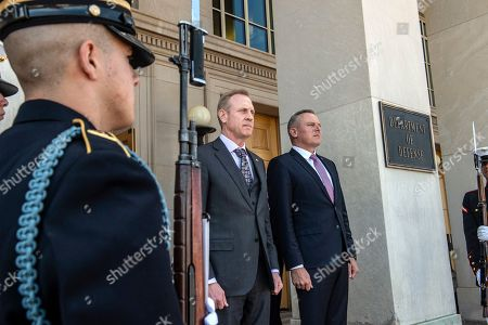 Editorial photo of Austrian Defense Minister visit to Washington DC, USA - 10 Apr 2019