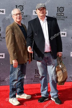 Stock Image of Ben Burtt and Craig Barron