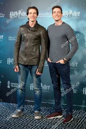 Oliver Phelps and James Phelps