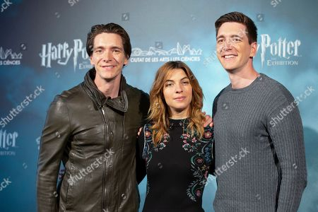 Oliver Phelps, Natalia Tena and James Phelps