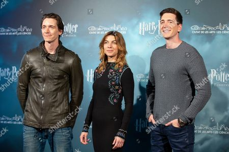 Editorial photo of 'Harry Potter: The Exhibition' launch, Madrid, Spain - 10 Apr 2019