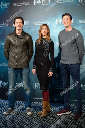 Editorial image of 'Harry Potter: The Exhibition' launch, Madrid, Spain - 10 Apr 2019