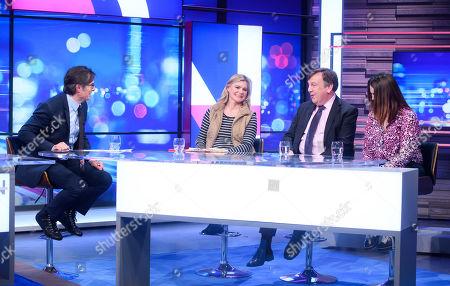Stock Photo of Robert Peston, Justine Greening, John Whittingdale and Melanie Onn