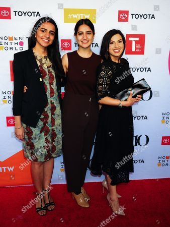 Editorial photo of 10th Annual Women in the World Summit, Arrivals, New York, USA - 10 Apr 2019