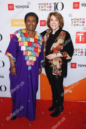 Edna Adan Ismail and Marjorie Margolies