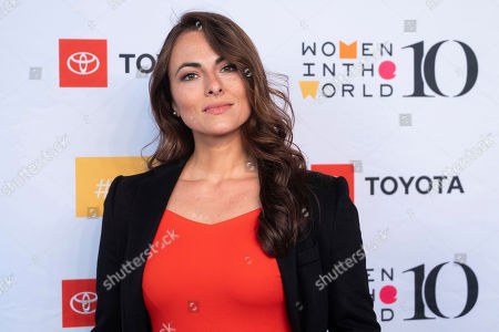 Isabel Leonard attends the Women in the World Summit opening night at the David H. Koch Theater at Lincoln Center, in New York