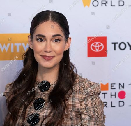 Audrey Gelman attends the Women in the World Summit opening night at the David H. Koch Theater at Lincoln Center, in New York