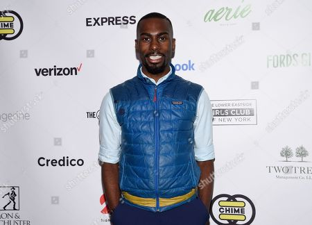 Activist DeRay Mckesson attends the Lower Eastside Girls Club Spring Fling gala at the Angel Orensanz Foundation, in New York