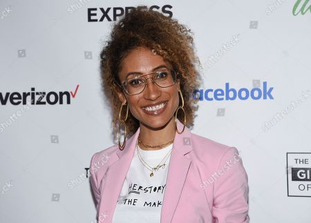 Journalist Elaine Welteroth attends the Lower Eastside Girls Club Spring Fling gala at the Angel Orensanz Foundation, in New York