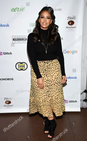Radio personality Nessa Diab attends the Lower Eastside Girls Club Spring Fling gala at the Angel Orensanz Foundation, in New York