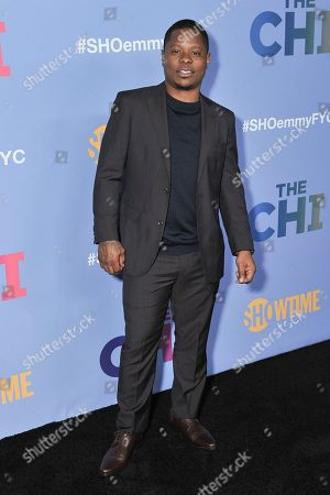 """Jason Mitchell attend """"The Chi"""" FYC Event at the Pacific Design Center, in Los Angeles"""