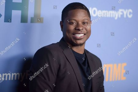 """Jason Mitchell attends """"The Chi"""" FYC Event at the Pacific Design Center, in Los Angeles"""