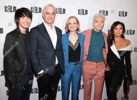 Stock Picture of Charis Larkin, Paul Gross, Barbara Garrick, Garcia, Ashley Park