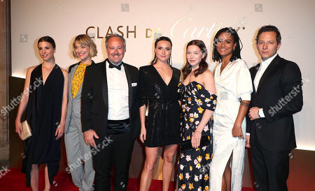 Editorial picture of Clash de Cartier launch dinner, Paris, France - 10 Apr 2019