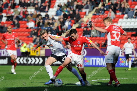 Editorial image of Charlton Athletic v Luton Town, Sky Bet League One, Football, The Valley, London, UK - 13 Apr 2019