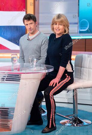 Tom Walker and Rachel Johnson