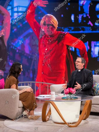 Christine Lampard and Reverend Richard Coles