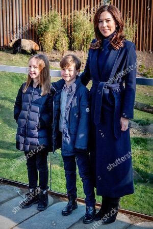 Princess Mary of Denmark visit to Copenhagen Zoo