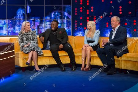 Sara Pascoe, Samson Kayo, Emma Bunton and Jeremy Clarkson
