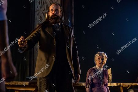 Peter Stormare as Czernobog and Cloris Leachman as Zorya Vechernyaya