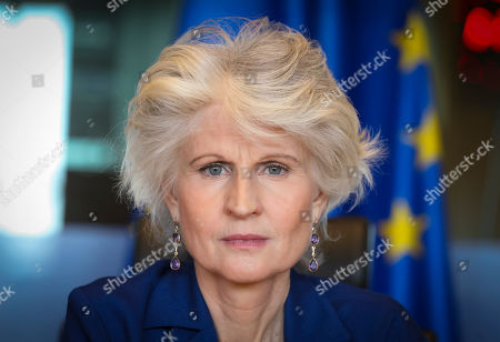 Editorial photo of Act to Protect Children Affected by Conflict campaign launch, Brussels, Belgium - 10 Apr 2019