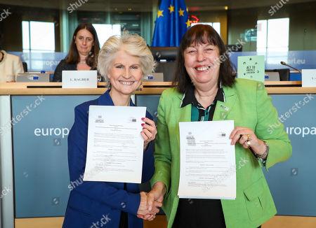 Anna Maria Corazza Bildt and Virginia Gamba