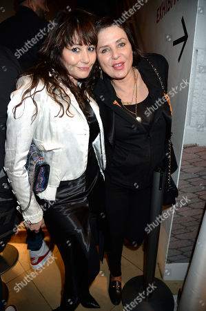 Stock Image of Frances Ruffelle and Sadie Frost