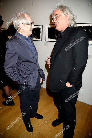 Stock Image of Ken Loach and Paul Greengrass