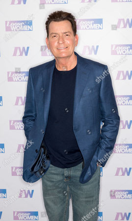 Stock Photo of Charlie Sheen