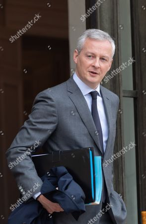 French Economy Minister Bruno Le Maire