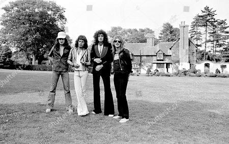 John Deacon, Freddie Mercury, Brian May, Roger Taylor