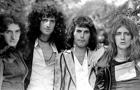 John Deacon, Brian May, Freddie Mercury, Roger Taylor