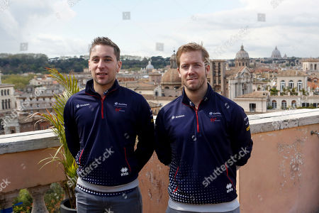 Robin Frijns and Sam Bird of Virgin Racing