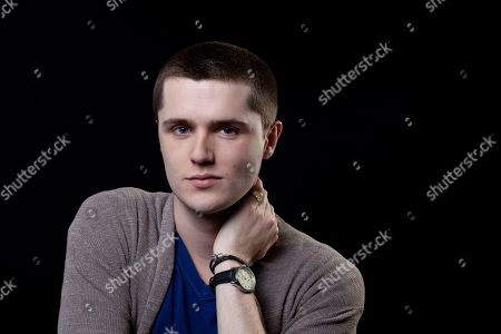 """Stock Photo of This photo shows actor Eugene Simon, who portrayed Lancel Lannister in the HBO series """"Game of Thrones,"""" posing for a portrait in Los Angeles. The final season of the series premieres on Sunday"""