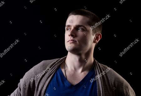 """Stock Image of This photo shows actor Eugene Simon, who portrayed Lancel Lannister in the HBO series """"Game of Thrones,"""" posing for a portrait in Los Angeles. The final season of the series premieres on Sunday"""