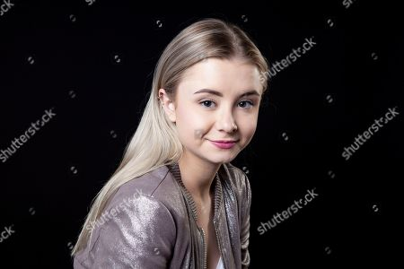 "This photo shows actress Kerry Ingram posing for a portrait in Los Angeles. Ingram portrayed Shireen Baratheon in the HBO series ""Game of Thrones."" The final season of the series premieres on Sunday"